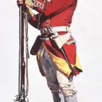 British soldier of the 29th Regiment of Foot , Boston 1770