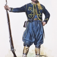Zouave of the 53rd New York Volunteers