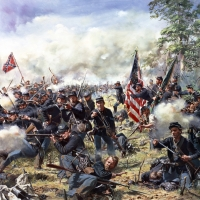 """Rock of Erin"" , The 69th Pennsylvania Regiment at the Battle of Gettysburg, July 3, 1863"
