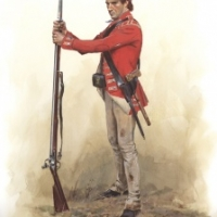 British Soldier of the Light Infantry Company of the 53rd Regiment of Foot 1777