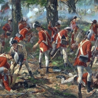 The 62nd British Regiment of Foot at the Battle of Freeman's Farm (Saratoga Campaign)   1777