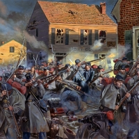 """Fire On Caroline Street"" The 20th Massachusetts Regiment at the Battle of Fredericksburg"