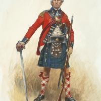Loyalist officer of the Royal Highland Emigrants , 84th Regiment of Foot