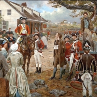 The hanging of Nathan Hale , New York 1776