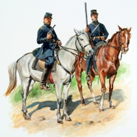Confederate Army, Sussex Light Dragoons of Virginia 1861